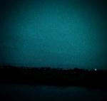 november avond op weg naar huis