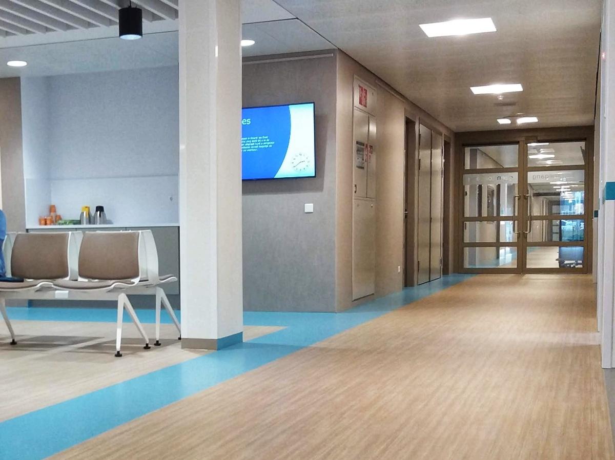 Ziekenhuis in weiland in derimboe